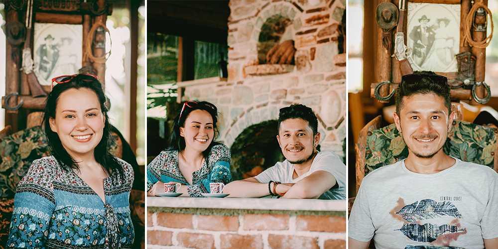 LAREN Safari Park'ta Türk Kahvesi Molası